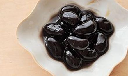 ふっくら黒豆煮
