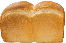春よ恋(強力粉)を使用したパン・ド・ミのイメージ