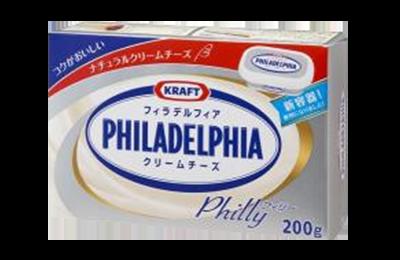 クラフトフィラデルフィアクリームチーズ(フィリー)/ 200g