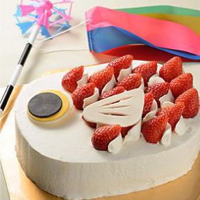 こいのぼりケーキ画像