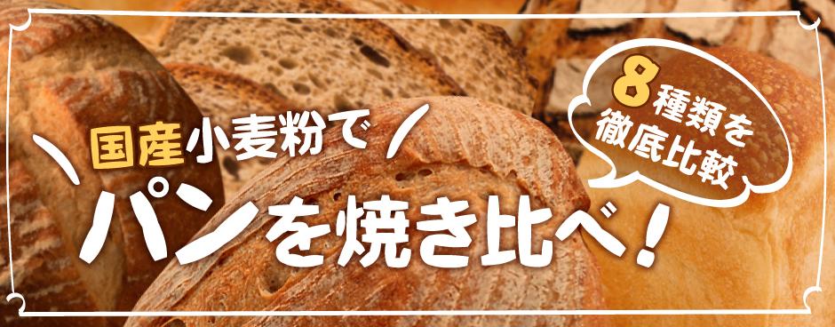国産小麦粉比較