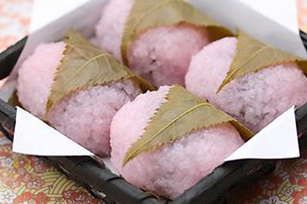 関西風桜もち