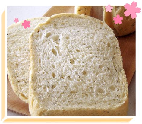 桜香る塩食パン(HB編)イメージ