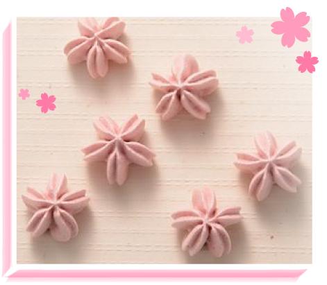さくら(苺)のメレンゲイメージ