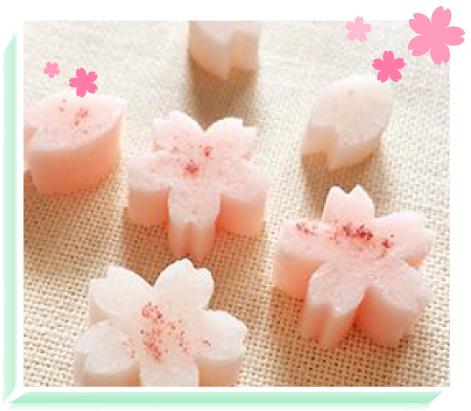 桜の干菓子イメージ