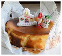 バル風焼チーズケーキ画像