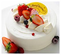 いちごのショートケーキ画像