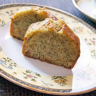 紅茶とオレンジのパウンドケーキ