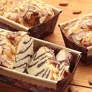 チョコマーブルのラウンドパン