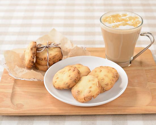 キャラメルチョコチップ入りクッキー