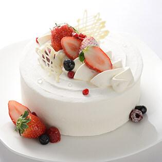 デコレーションホールケーキ
