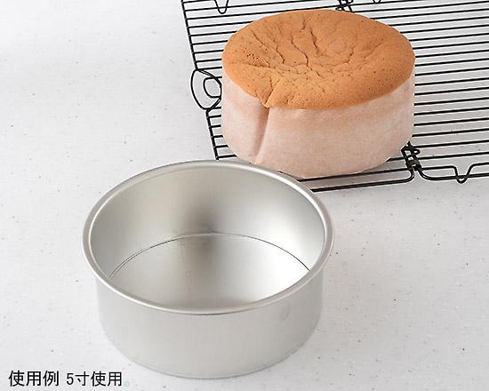 ブリキデコ型 共底とスポンジケーキ