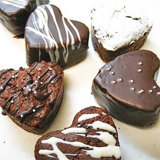 チョコレートコーティングしたお菓子