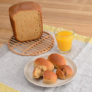 焼き立てふすまパン