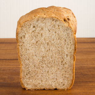 北海道産全粒粉 ゆめちからで焼いたパン
