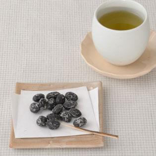 緑茶と甘納豆