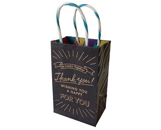 クラフトギフトバッグS Board BK / 2枚 | ラッピング,手提げ袋,紙 ...