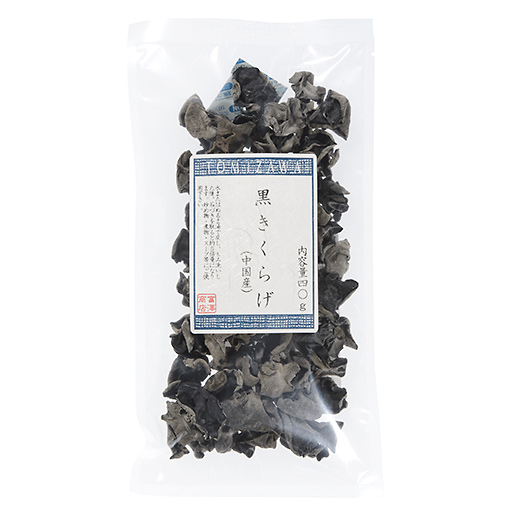 TOMIZ(富澤商店)オンラインショップで買える「黒きくらげ(中国産)/40g」の画像です。価格は237円になります。