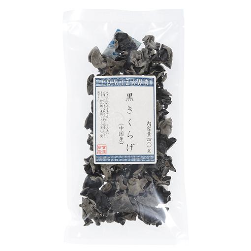 TOMIZ(富澤商店)オンラインショップで買える「黒きくらげ(中国産)/40g」の画像です。価格は257円になります。