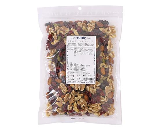 5種のナッツ&フルーツ / 500g