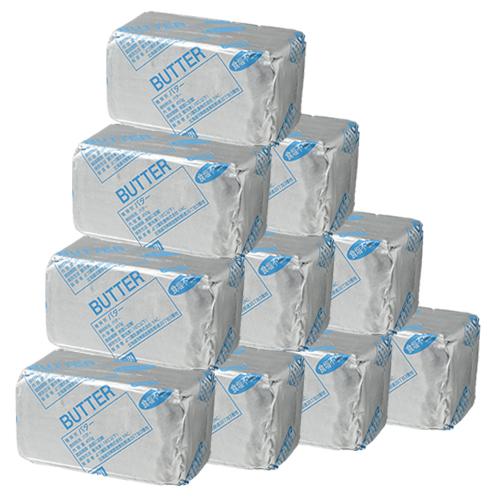 よつ葉乳業加工 ドイツ産バター(食塩不使用) / 450g×10個セット