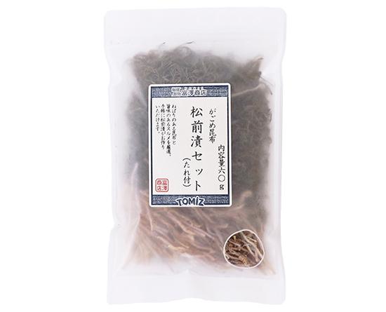 がごめ昆布 松前漬セット(たれ付) / 60g