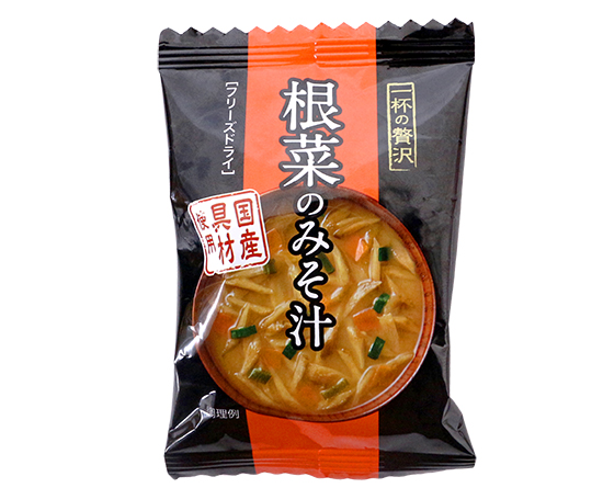 一杯の贅沢 根菜のみそ汁 / 1食(7.3g)