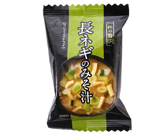 一杯の贅沢 長ネギのみそ汁 / 1食(7.5g)