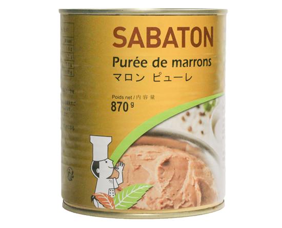サバトン マロンピューレ / 870g