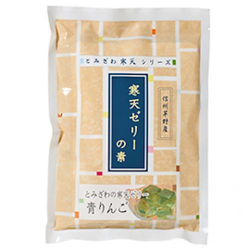 富澤寒天 ゼリーの素(青りんご) / 125g×2