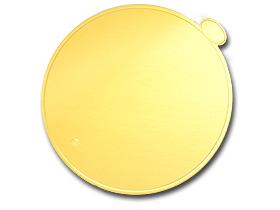 ゴールド台紙(丸5寸)