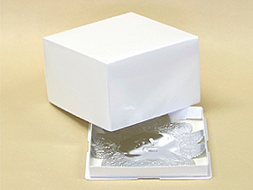 かぶせデコ箱(白無地) 5号