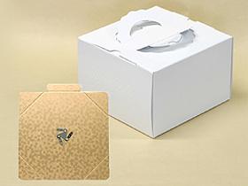 手提シフォンケーキ箱(H140) / 1枚