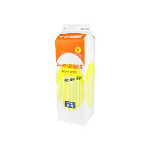 三州食品 PP20%加糖卵黄 / 1kg
