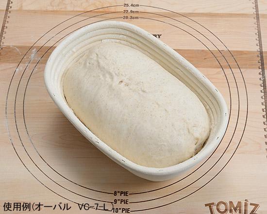 醗酵カゴ オーバル VC-7-S / 1個