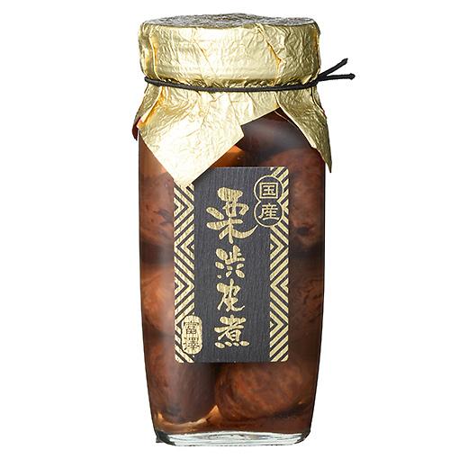 国産 栗渋皮煮(中瓶)