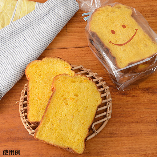 食パン袋1斤用 スマイル / 50枚