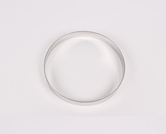 ステンレス タルトリング 16cm ※:クッキーを抜く用