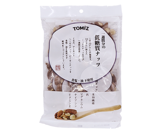 一週間分の低糖質ナッツ / 210g(30g×7袋)