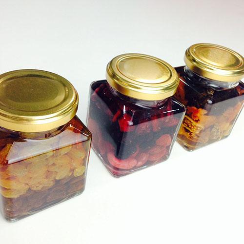 *● 小分け保存用ジャム瓶(185ml角) / 1個