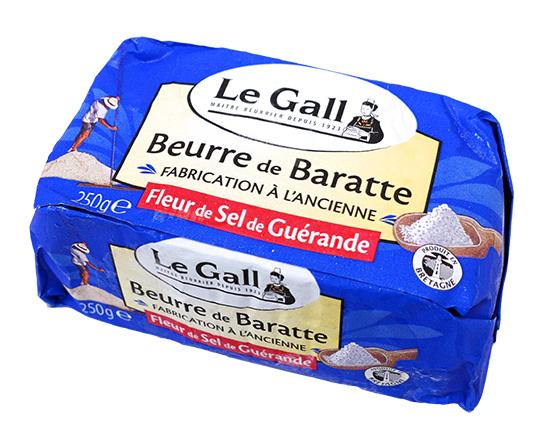 Le Gall フランス産バター(ゲランド食塩使用) / 250g