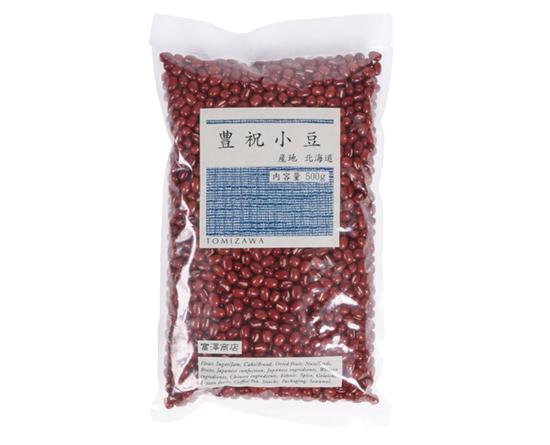 北海道産 大粒小豆(豊祝小豆) / 500g