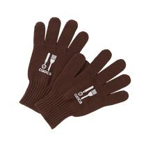 *◎ cuocaオリジナル厚地オーブン用手袋(ブラウン) / 1セット