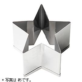 パテ抜型 星(#5)