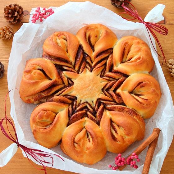クリスマスのツイストパン