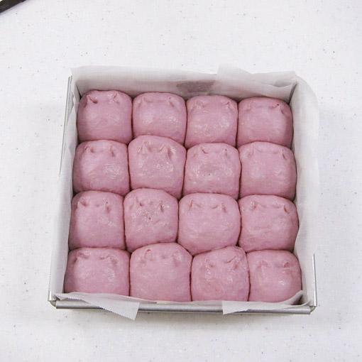 ホームベーカリーでつくる 紫芋ちぎりパン   TOMIZ 富澤商店