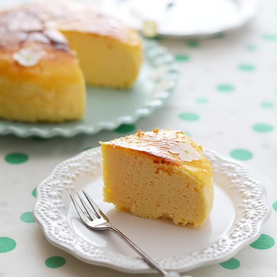 カッテージスフレチーズケーキ