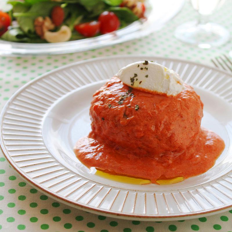 グルテンフリー イタリアンおからハンバーグ