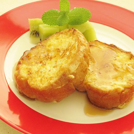 アーモンドミルクで作るフレンチトースト
