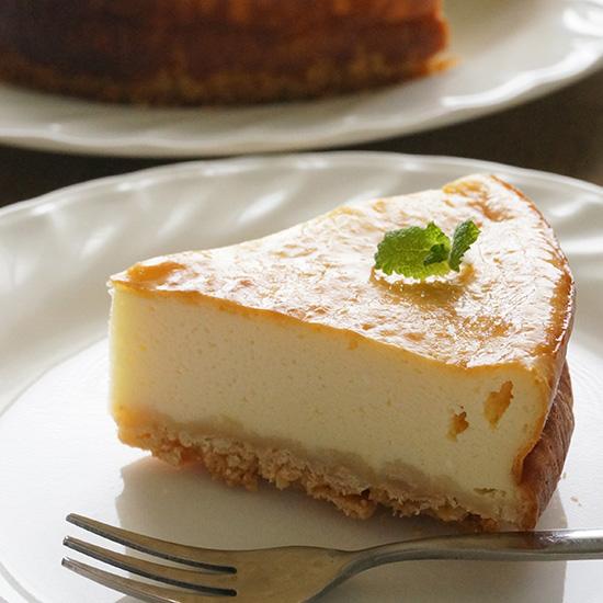 アーモンドミルクで作るチーズケーキ